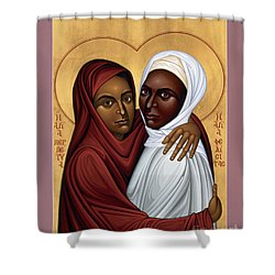 Sts. Perpetua And Felicity - Rlpaf Shower Curtain