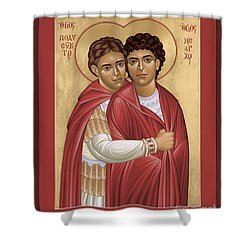 Sts. Polyeuct And Nearchus - Rlpan Shower Curtain