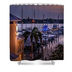 Stuart Harbor Shower Curtain
