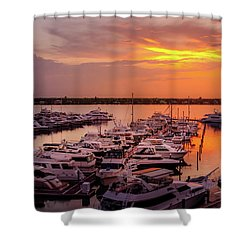 Stuart Sunset Shower Curtain