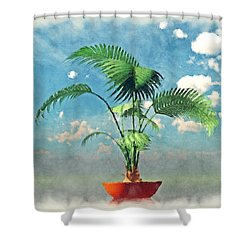 Stuck In The Mud... Shower Curtain by Tim Fillingim