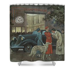 Studebaker #8704 Shower Curtain