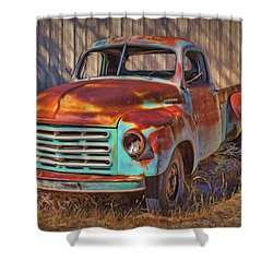 Studebaker - Pickup Truck Shower Curtain