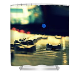 Studio Moments - Faders Shower Curtain