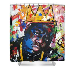Biggie Smalls Shower Curtain
