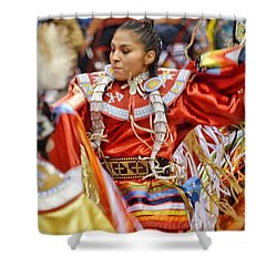 Studying Keya Clairmont 2 Shower Curtain by Clarice Lakota