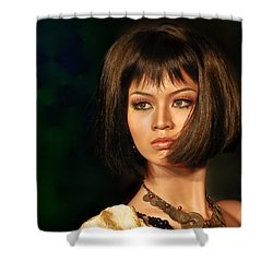 Stunning Shower Curtain by Charuhas Images