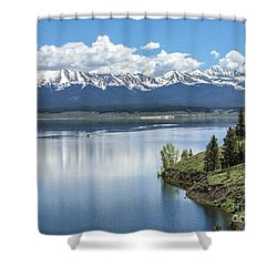 Stunning Colorado Shower Curtain by William Wyckoff
