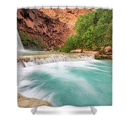 Stunning Havasu Falls Shower Curtain