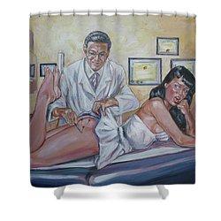 Stupid Cupid Shower Curtain