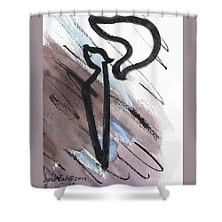 Stylish Kuf Shower Curtain