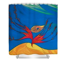 Suantraigh Shower Curtain