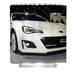 Subaru Brz Shower Curtain