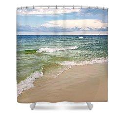 Sublime Seashore  Shower Curtain