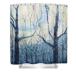 Sublimity Shower Curtain by Holly Carmichael