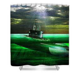 Submarine Shower Curtain
