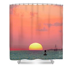 Submerge  Shower Curtain by Expressionistart studio Priscilla Batzell