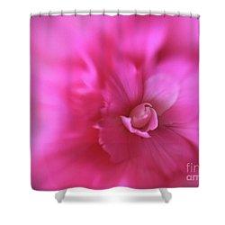 Subtle Begonia Shower Curtain