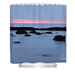 Shower Curtain featuring the photograph Subtle Sunrise by Larry Ricker