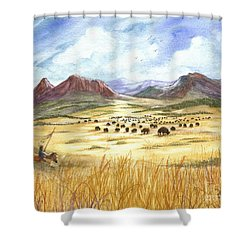 Successful Search Shower Curtain by Marilyn Smith