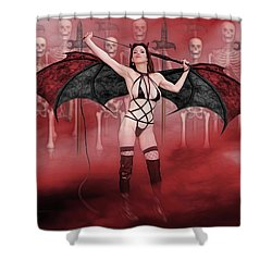 Succubus And Army Shower Curtain