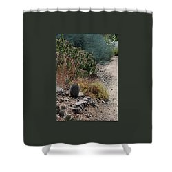 Succulent Series I Shower Curtain