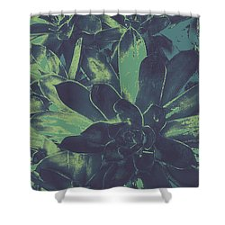 Succulents #2 Shower Curtain