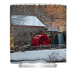 Sudbury Gristmill Shower Curtain