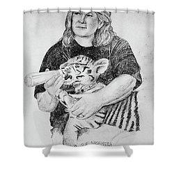 Sue Nassivera Shower Curtain