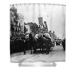 Suffrage Parade, 1913 Shower Curtain by Granger