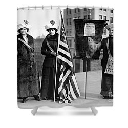 Suffragettes, C1910 Shower Curtain by Granger