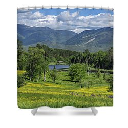 Sugar Hill Springtime Shower Curtain