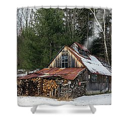 Sugar King's Smokehouse Shower Curtain