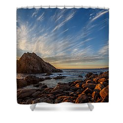 Sugarloaf Rock  Shower Curtain