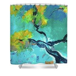 Suggestioni Orientali Shower Curtain by Alessandro Andreuccetti