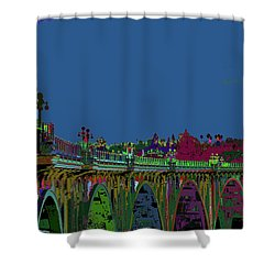 Suicide Bridge 2017 Let Us Hope To Find Hope Shower Curtain