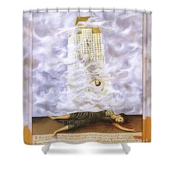 Suicide Of Dorothy Hale Shower Curtain