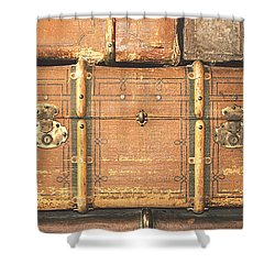Suitcases  Shower Curtain