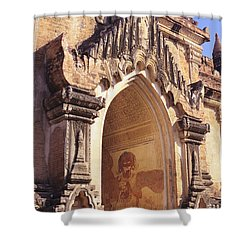 Sulamani Temple Shower Curtain by Gloria & Richard Maschmeyer - Printscapes