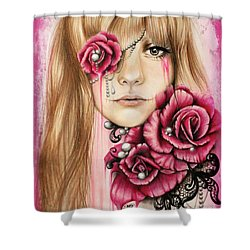 Sullenly Sweet  Shower Curtain by Sheena Pike