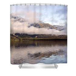 Sullivan Island Sunset Shower Curtain by Michele Cornelius
