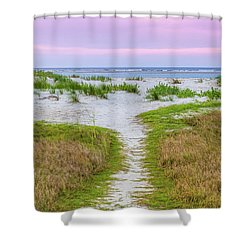 Sullivan's Island Natural Beauty Shower Curtain