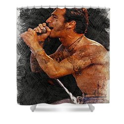 Sully Erna Singing Shower Curtain