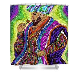 Sultan 2000 Shower Curtain by Robert SORENSEN