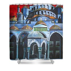 Sultan Ahmed Mosque Istanbul Shower Curtain