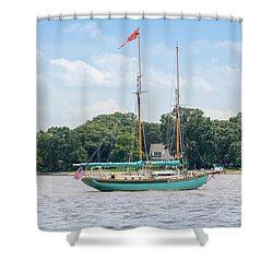Sultana On The Chester Shower Curtain