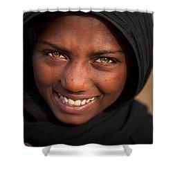 Suman Smile Shower Curtain