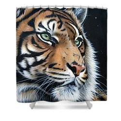 Sumatran  Shower Curtain