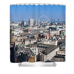 Sumer Panorama Of London Shower Curtain