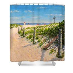 Summer 12-28-13 Shower Curtain by Joe Bergholm